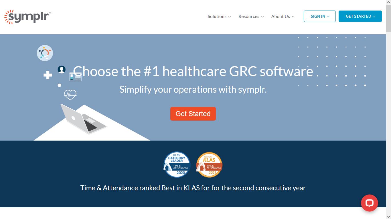 healthcare GRC solutions